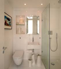 Small Bathroom Cabinets White With Scandinavian Wet Room - Wetroom bathroom