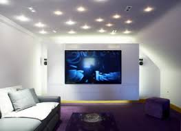 games room lighting. Large TV Cinema With White Lights On Games Room Lighting N