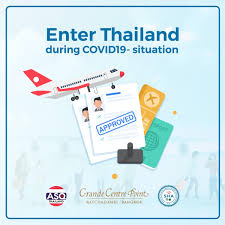 Greeting guests who enter Thailand during COVID19 situation