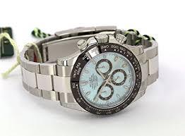 rolex cosmograph daytona ice blue dial platinum mens watch rolex cosmograph daytona ice blue dial platinum mens