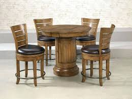 3 piece pub table set piece counter height dining set 3 piece pub table set round