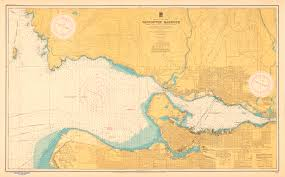 Burrard Inlet Depth Chart Vancouver Harbour Sheet 2 Point Grey To Second Narrows
