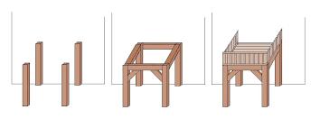 Möbel müssen über balkone und fenster gehievt werden, weil sie sich auf der schmalen treppe sperren. Balkon Selber Bauen
