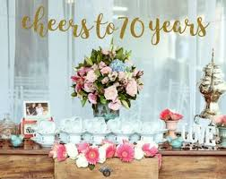 cheers to 70 years banner 70th birthday party 70th birthday sign 70th birthday decor 70th anniversary 70th party banner glitter banner