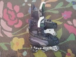 New Mission Inhaler Ac7 Roller Hockey Skates Size Youth 12e