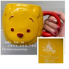 [Xoài Xấu Xa Shop] Ly Sứ 3D Mặt Gấu Pooh Disney Phim Hoạt Hình Gấu Winnie  The Pooh Hãng Disney Land Hàng Sưu Tầm, Cốc Sứ Uống Nước 3D Gấu Winnie The  Pooh Đẹp Đáng Yêu