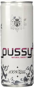 Amazon Pussy Natural Energy Drink 250ml Case of 24.