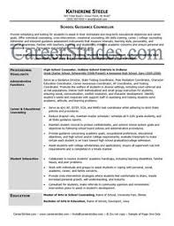 Sample Resume For School Counselor Asca School Counselor Resume Sample Will Give Ideas And Provide As