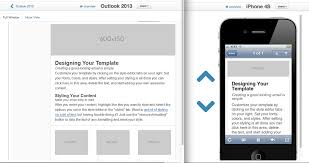 What Is A Design Template Six New Responsive Email Layouts And Other Template