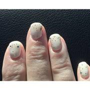 my nails done uneven photo of venetian nails spa calgary ab canada same nails diffe view