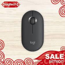 ❐Chuột Bluetooth không dây Logitech Pebble M350 nhỏ và yên tĩnh