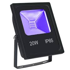Outdoor Uv Light 20w Uv Flood Light With Cob Led Ip65 Waterproof Black Lights For Outdoor Halloween Neon Glow Party And Stage Lighting