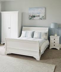 white and grey bedroom furniture. French-influenced In Design And Featuring Antiqued Silver Handles, The  Gabrielle Range Is Hand Brushed To Finish. White Grey Bedroom Furniture