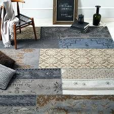 platinum rug surprising west elm rug distressed wool platinum