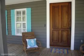 front porch with diy cottage style shutters new diy board and batten shutters