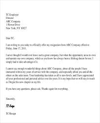 31 Resignation Letter Examples | Sample Templates