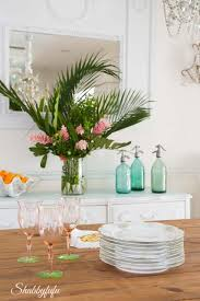 Tropical Decorating Ideas With Flowers Shabbyfufu Interesting Flowers Decoration For Home Ideas