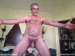 Uncut gay old men