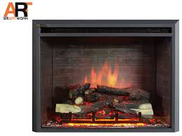 33 front attachment inset electric fireplace