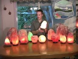 Real Salt Lamp Mesmerizing Full Spectrum Life Himalayan Salt Lamps YouTube