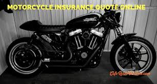 Motorcycle Insurance Quotes Gorgeous Motorcycle Insurance Quote Online What Questions To Expect Before