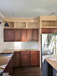 79 most lovable adding storage above kitchen cabinets display shelf for the empty space your ae and building up to ceiling from thrifty decor open