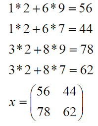 matrix multiplication math help step 5
