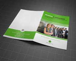 Free Two Fold Brochure Template 2 Page Flyer Omfar Mcpgroup Co