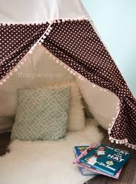 Teepee Pattern Gorgeous Sew A DIY Teepee Play Tent The DIY Mommy