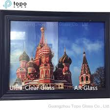 china extra clear view anti reflective ar glass for photo frame ar tp china architectural glass building glass