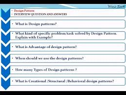 Java Design Patterns Interview Questions Cool Java Design Patterns Interview Questions Preparation Course Download