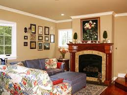wooden fireplace mantels decorating with 2 ornamental plants