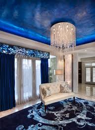 credit charles neal interiors crystal rain chandelier by glow lighting