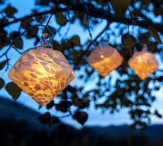 White Diamond Solar String Lights Pottery Barn