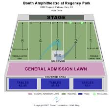 Koka Booth Seating Chart Booth Amphitheatre At Regency Park Tickets In Cary North