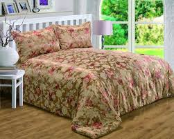 gold colour bronze fl rich jacquard quilted bedspread set luxury beautiful glamour bedding