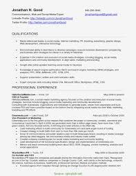 Community Manager Resume Sample Awesome Social Media Manager Resume