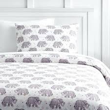 flannel duvet set winter elephant cover sham buffalo check