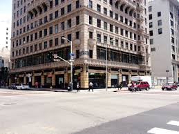 office space names. Ask DTLA Brokers The Names Of Four Creative Office Buildings In Downtown LA And On That List Will Surely Be, Pershing Square Building. Space