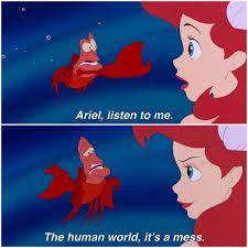 Disney Princess On Instagram Trust The Crustacean Well