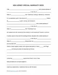 new jersey deed form new jersey special warranty deed form deed forms deed forms