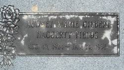 Audrey Marie Gilbert Haggerty Fields (1924-1987) - Find A Grave Memorial