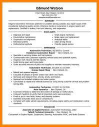Heavy Equipment Mechanic Sample Resume Killer Resume Template