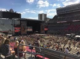 Ohio Stadium Section 16a Row 12 Seat 24 Buckeye Country