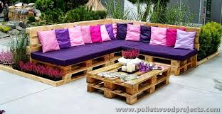 furniture made of pallets. Pallet Garden Furniture Made Of Pallets