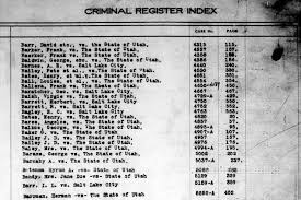 Third District Court Salt Lake County Criminal Case Index