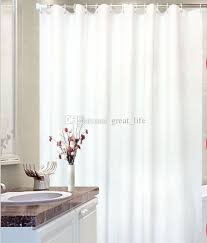 2019 extra long shower curtain liner hotel quality mildew resistant long shower curtain white tall shower curtain spa bathroom curtains from great life