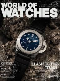 World Of Watches Summer 2017 By Rafalucho Issuu