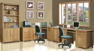oak desks for home office. Oak Office Furniture Double Pedestal Desk Desks For Home