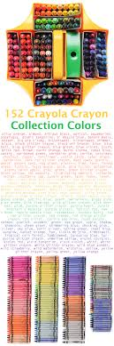 Crayola 152 Count Ultimate Crayon Collection Whats Inside